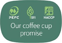 Our Coffee Cup Promise logo