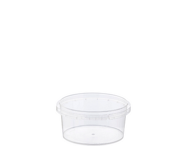 Locksafe Small Round Tamper Evident Containers (160ml)