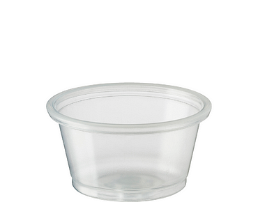 Portion Control Cups (Small 22ml) | Clear Plastic Containers