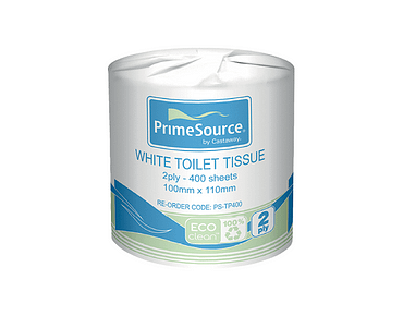 Washroom Toilet Paper Roll Tissues, 2-Ply