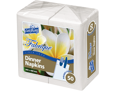 Fabrique® Linenlook® Dinner Napkins Pocket Fold