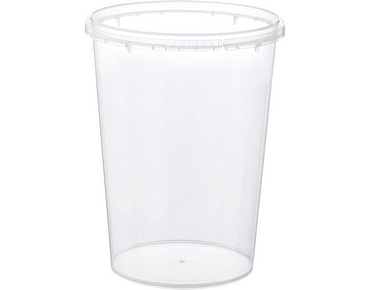Locksafe Round Tamper Evident Containers (1120ml)