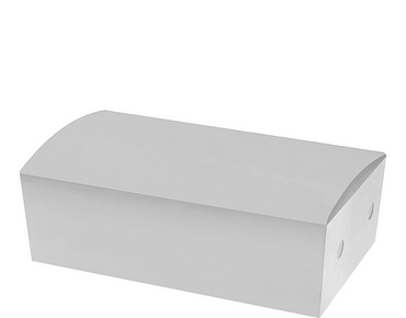 White Snack Box (Small) | Paper Food Containers