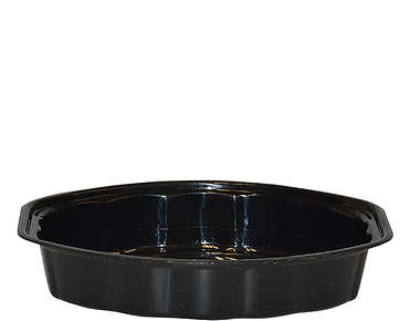 MicroReady® Oval Microwavable Plastic Containers