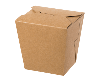 Food Pails without Handles (Brown 26oz)   Takeaway Food Box