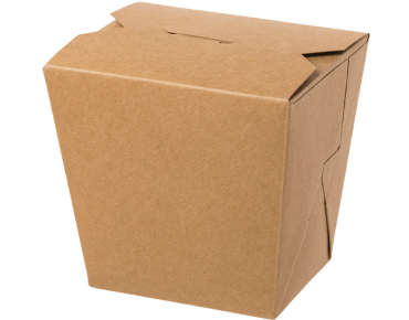 Food Pails without Handles (Brown 32oz)   Takeaway Food Box