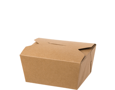 Meal Pails (Small #1 Brown | Takeaway Food Box