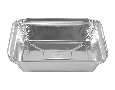 Rectangle Takeaway Foil Containers (Small Regular)