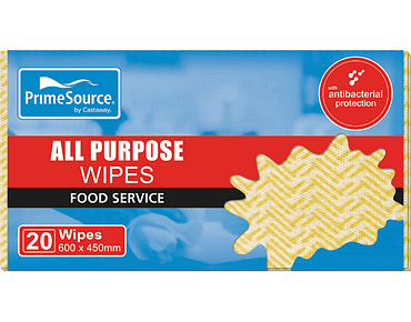 All Purpose Cleaning Wipes and Cloths (Yellow)