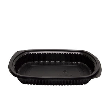 MicroReady® Large Rectangular Plastic Containers (1 Compartment)