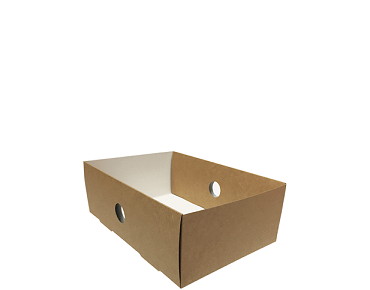 Quarter Insert for Large Window Platter Food Box