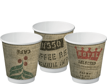 Double Wall Insulcups® | Paper Takeaway Coffee Cups (Jute 8oz)