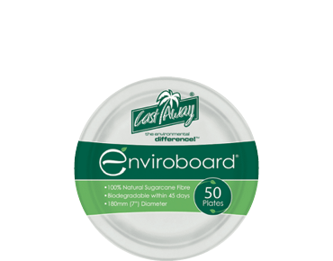 Small Round Biodegradable Plates
