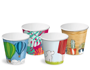 Creative Collection 6 oz Classic Single Wall Paper Coffee Cups